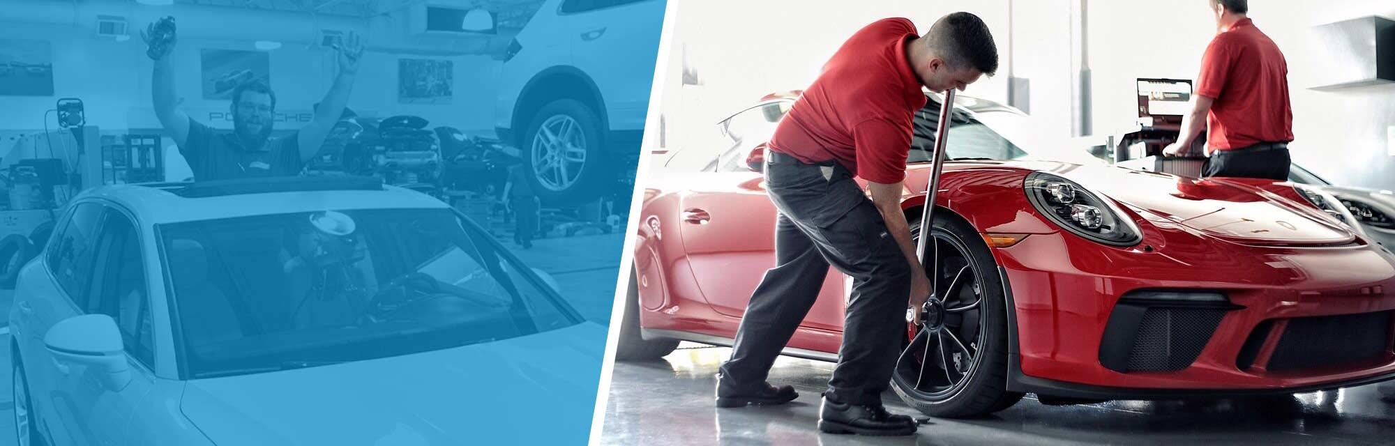 Meet Porsche Tech and UTI Grad Patrick Sellers