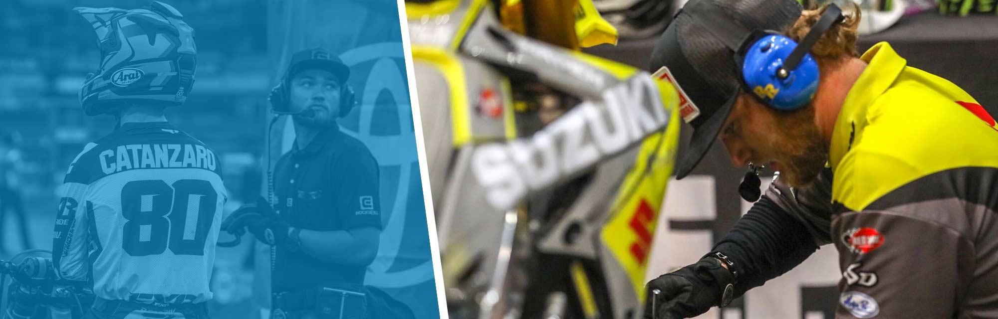 Derrick Sorensen: From MMI Student to the Suzuki Race Team