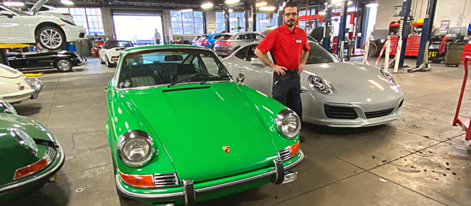 UTI Grad Goes From Community College to Porsche Technician