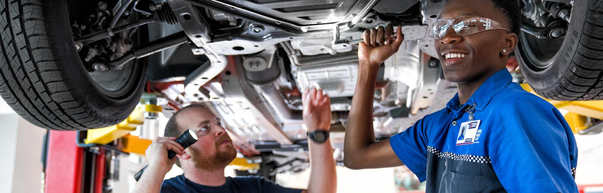 Learning Automotive Repair at High School Summer Program