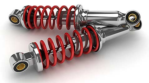 Shock absorbers help stabilize your vehicle while you drive.