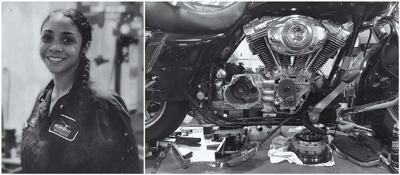 MMI Grad Selena Terrazas Paves the Way for Females in the Motorcycle Industry