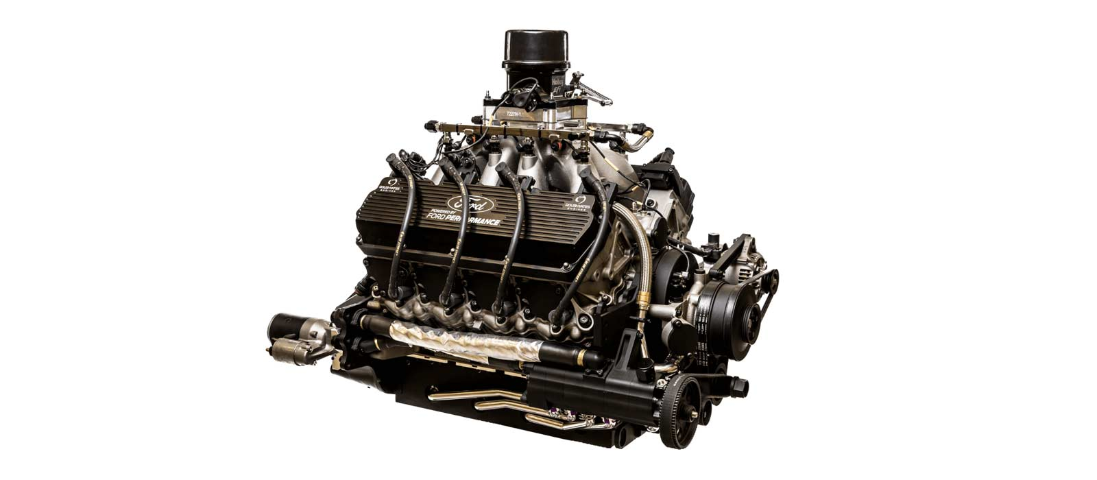 An image of a FR9 NASCAR Engine from Roush Yates Engines