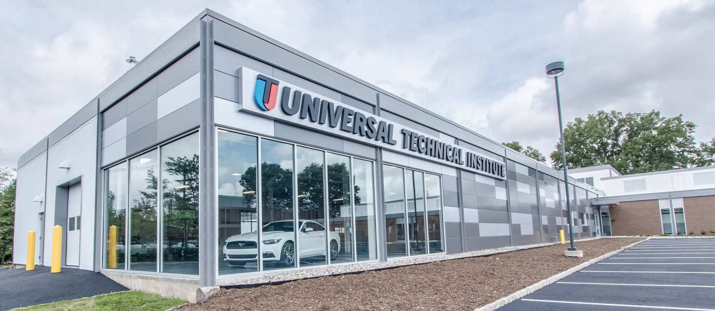 An image of the exterior of the building at UTI Bloomfield