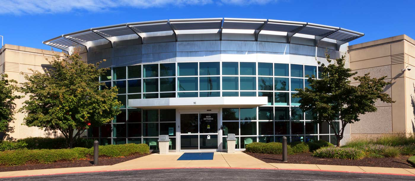 An exterior shot of UTI Exton in Pennsylvania