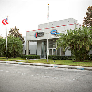 Front shot of the UTI Orlando campus