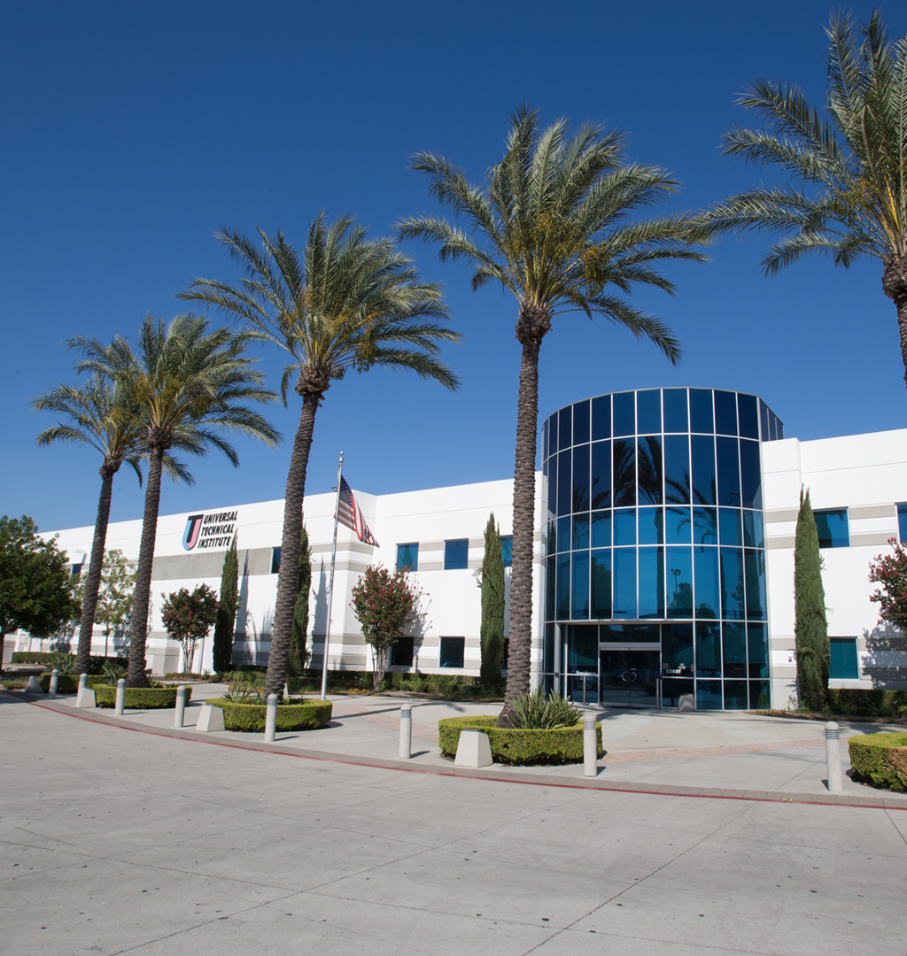 Exterior photo of the Rancho Cucamonga campus