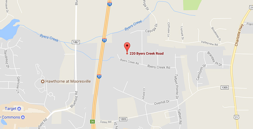 UTI Mooresville campus location on google maps