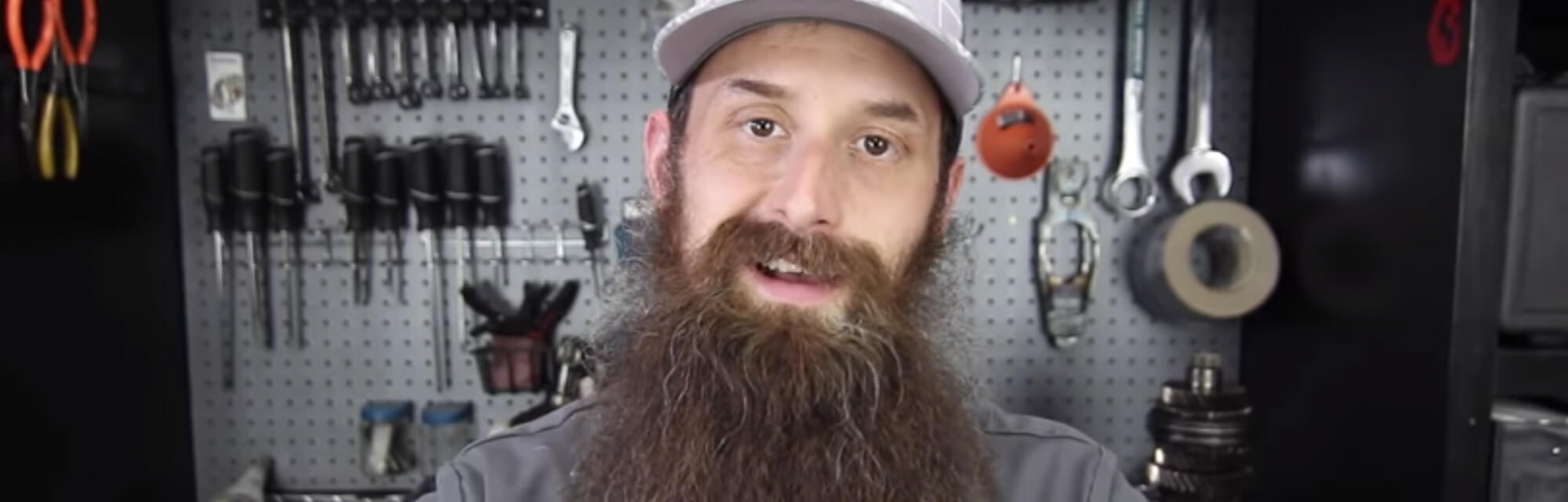 An image of Charles Sanville aka The Humble Mechanic who is a YouTube influencer entrepreneur and a graduate of Universal Technical Institute.