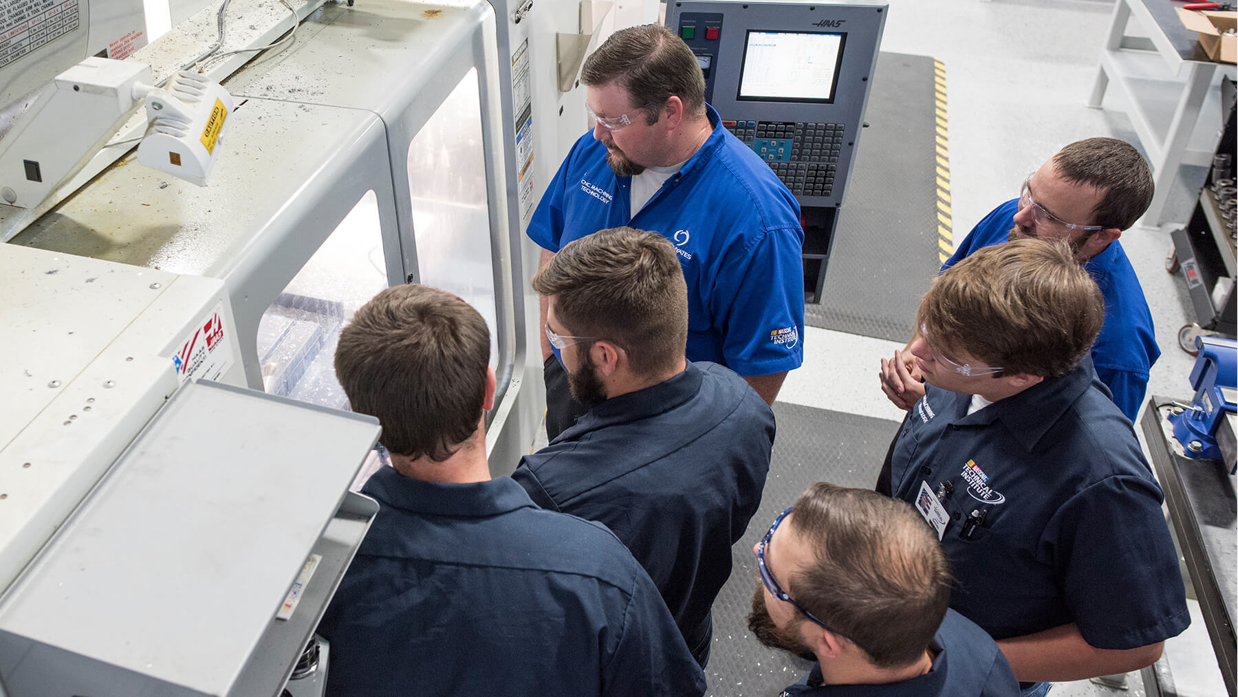 CNC Machinist Training Program | NASCAR Technical Institute